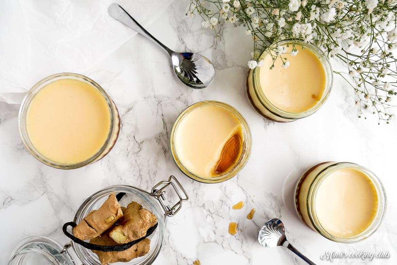 crème caramel au gingembre d'ottolenghi