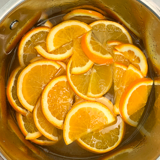 galette des rois tourbillon orange