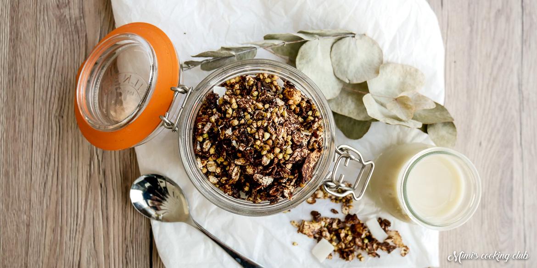 granola cacao et sarrasin