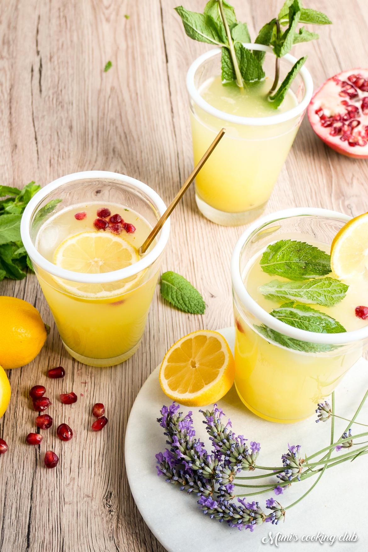 limonade citron safran zero dechet
