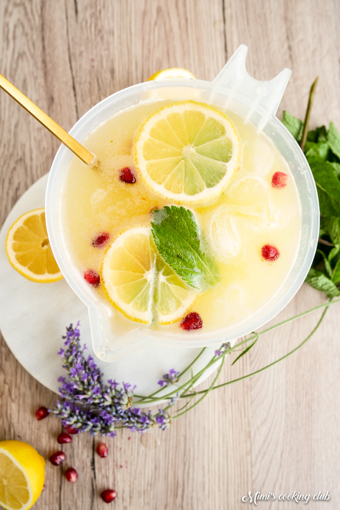 limonade citron maison safran zero dechet