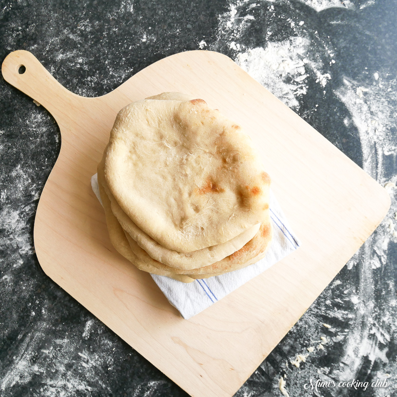 pain pitas maison
