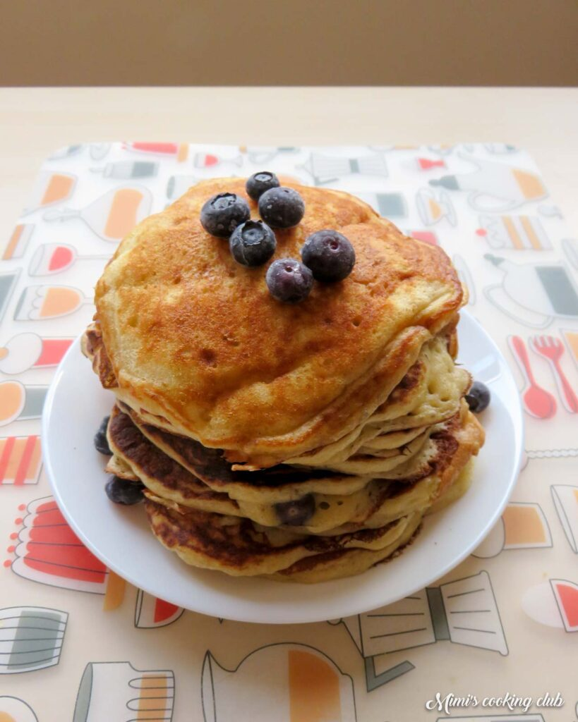 pancakes myrtilles martha sterwart