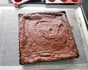 brownie a l'avocat gluten free