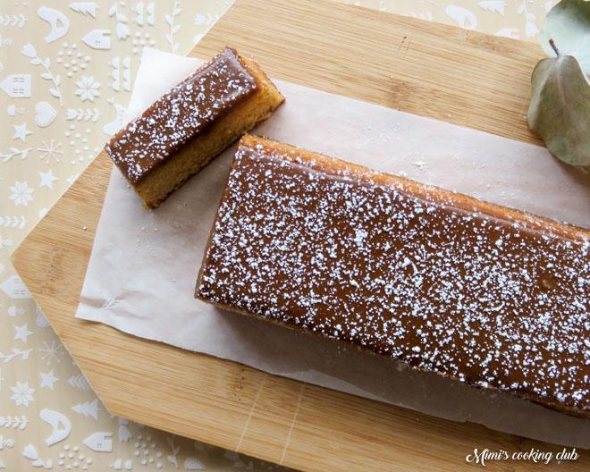 cake au sirop d'érable