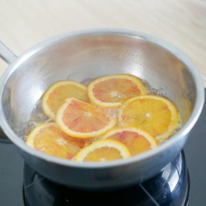 oranges dans le sirop