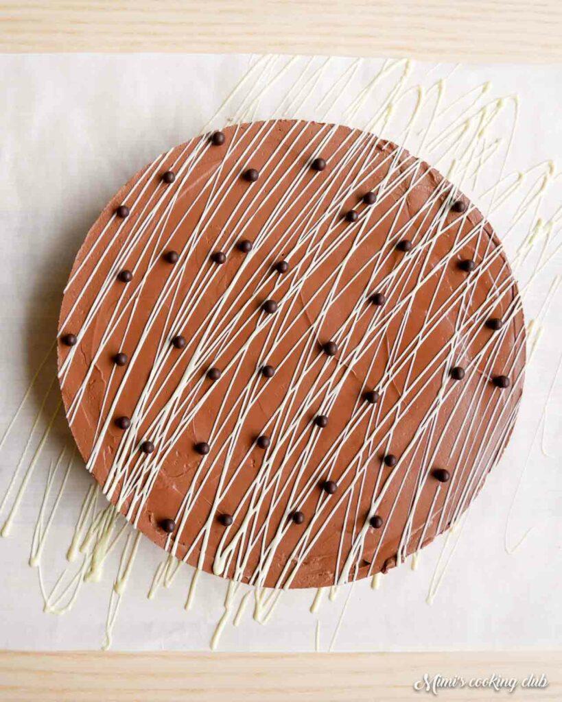 cheesecake au chocolat sans cuisson facile
