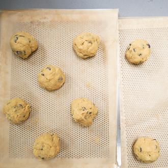 cookies giants sarah kieffer pan banging