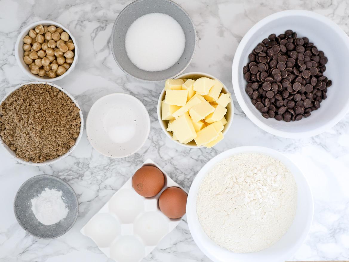 ingredients cookies