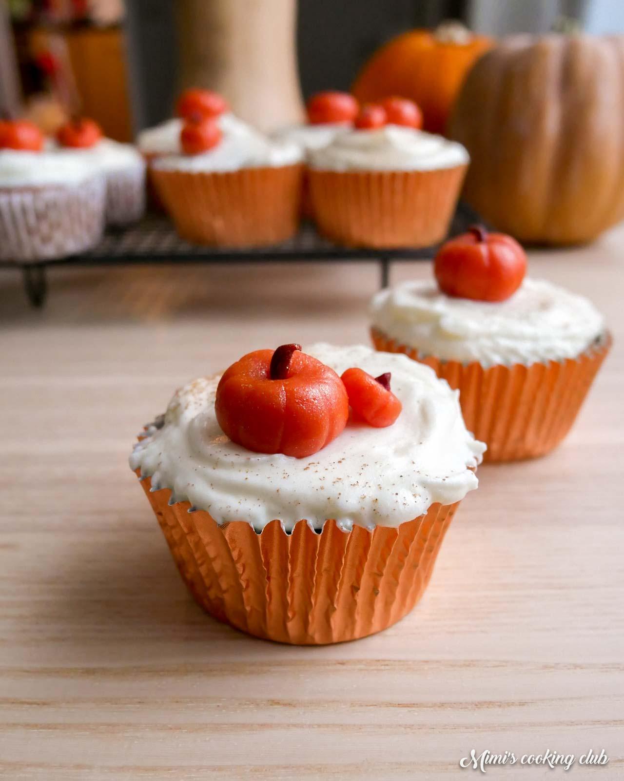 cupcakes au potiron hummingbird bakery