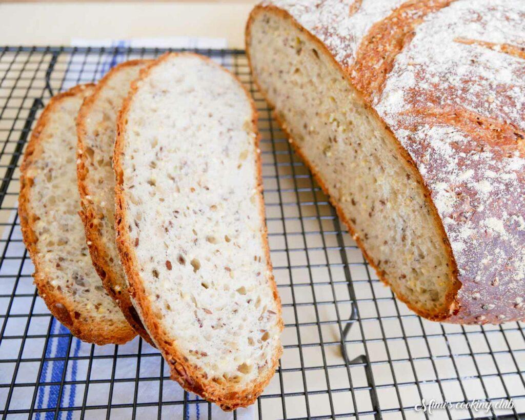 pain maison multigrain facile