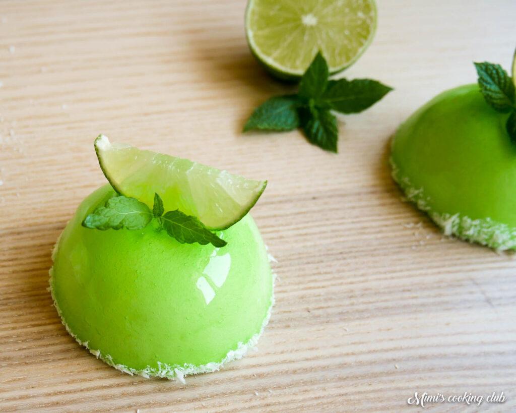 petits gâteaux mojito bachour