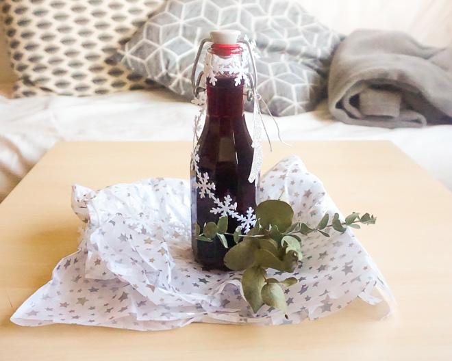 Noël - sirop de vin chaud
