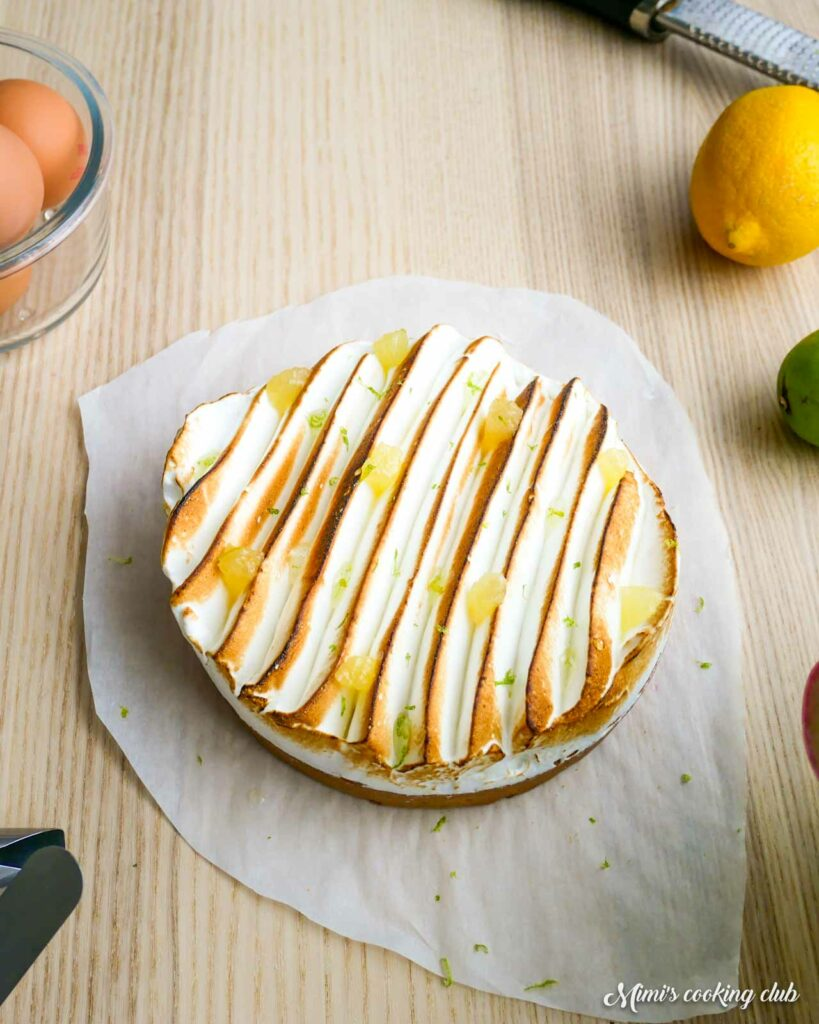 tarte au citron meringuée facile